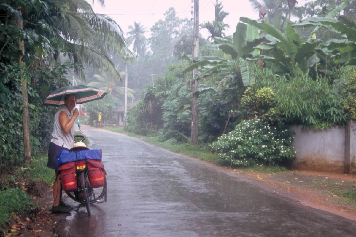 we hit a bit of rainy season