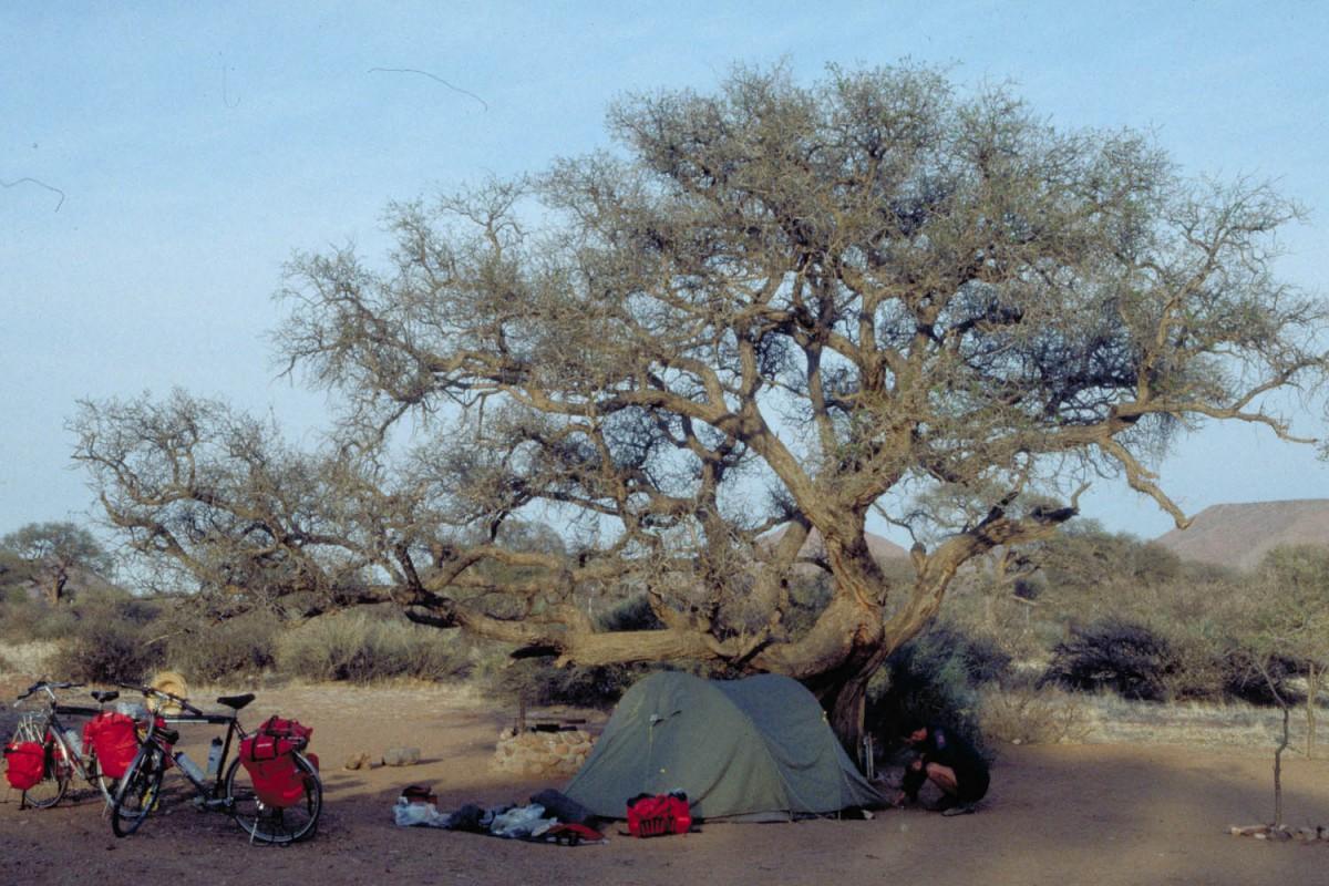 campground at Duwisib
