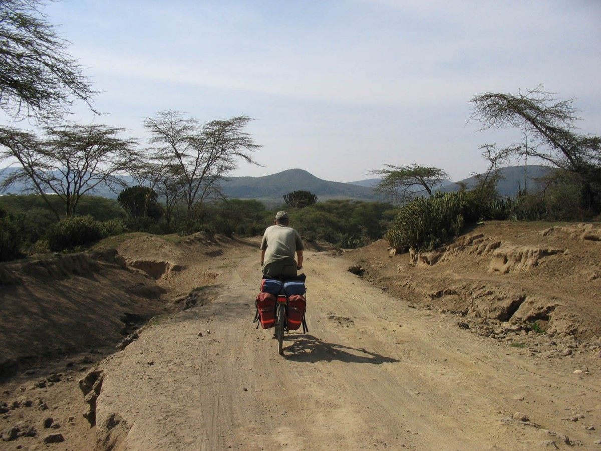 the rough road to Crater Lake (Lake Naivasha)