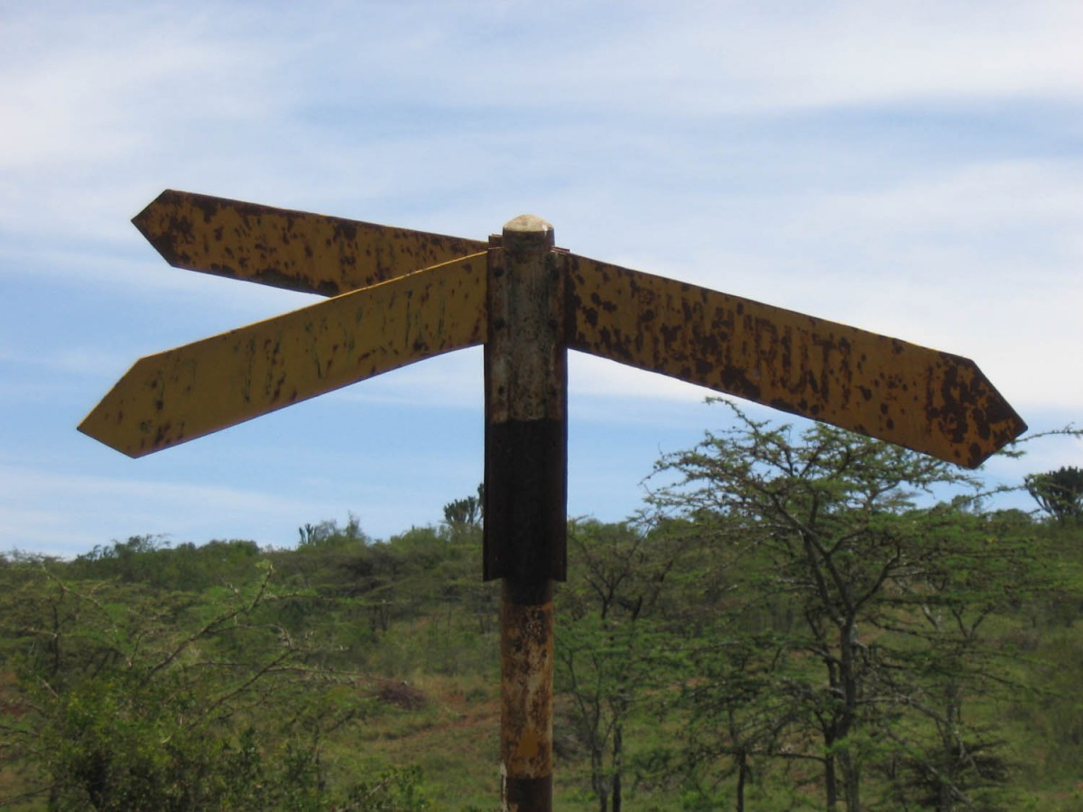 one of those rare occasions of good signposting ;-)
