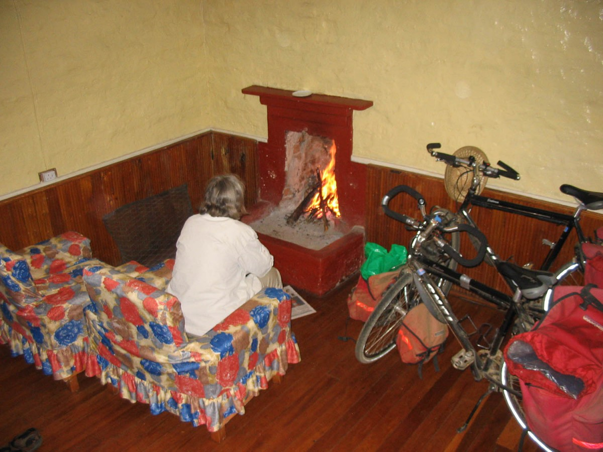 ...enjoying luxury accommodation at the Naro Moru River Lodge