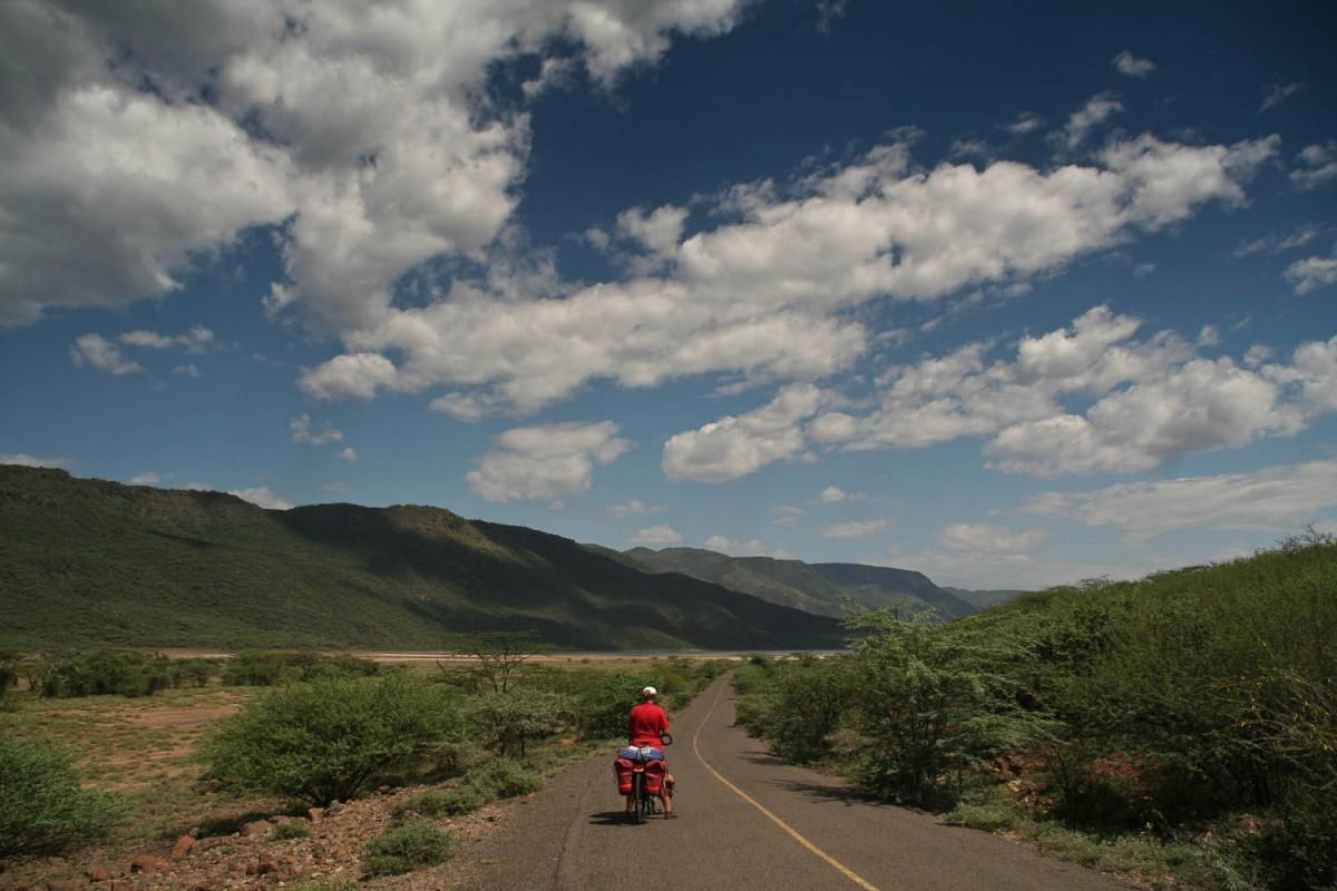 a sunny day near Lake Bogoria