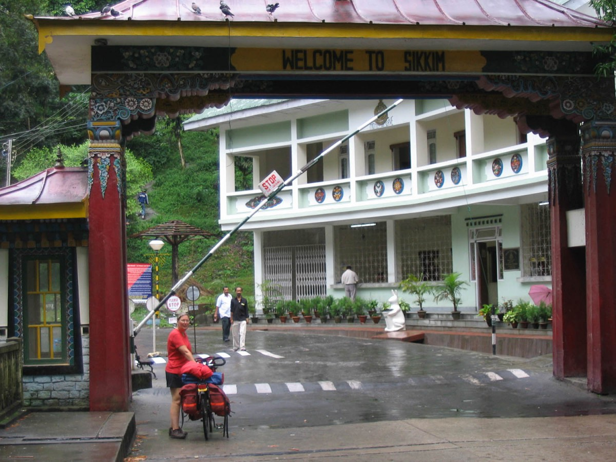 Border with Sikkim
