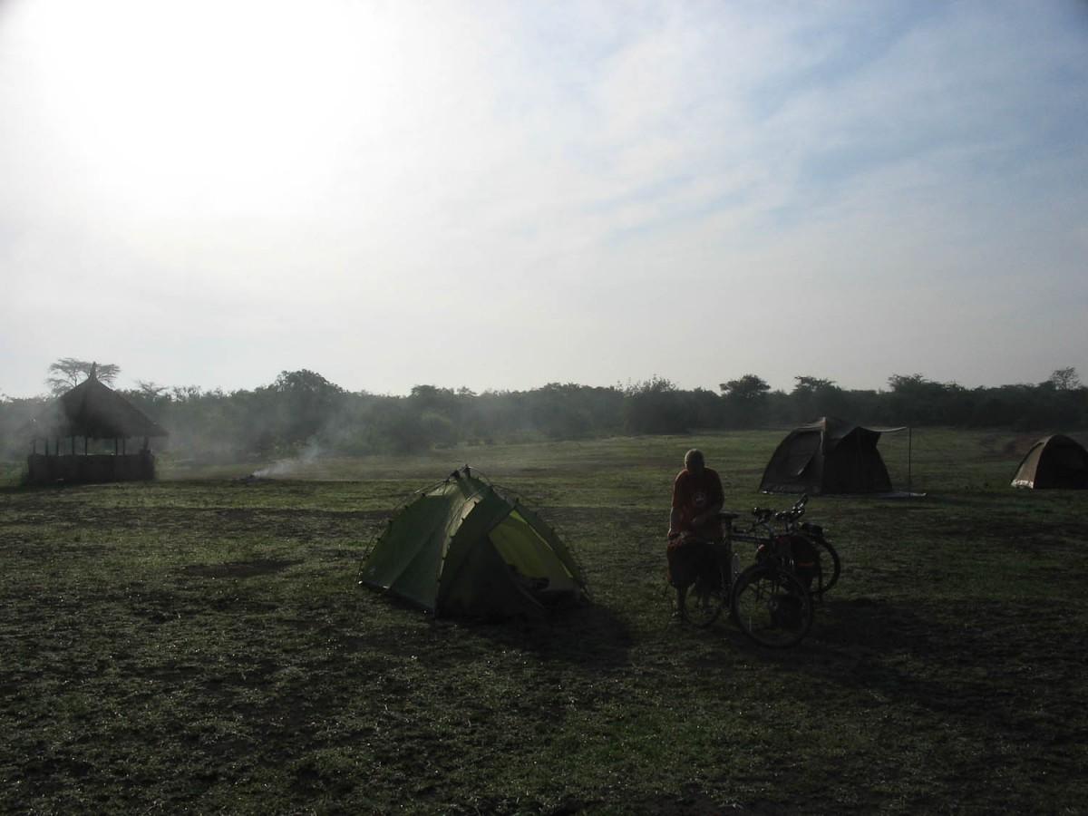 Lake Mburo campsite
