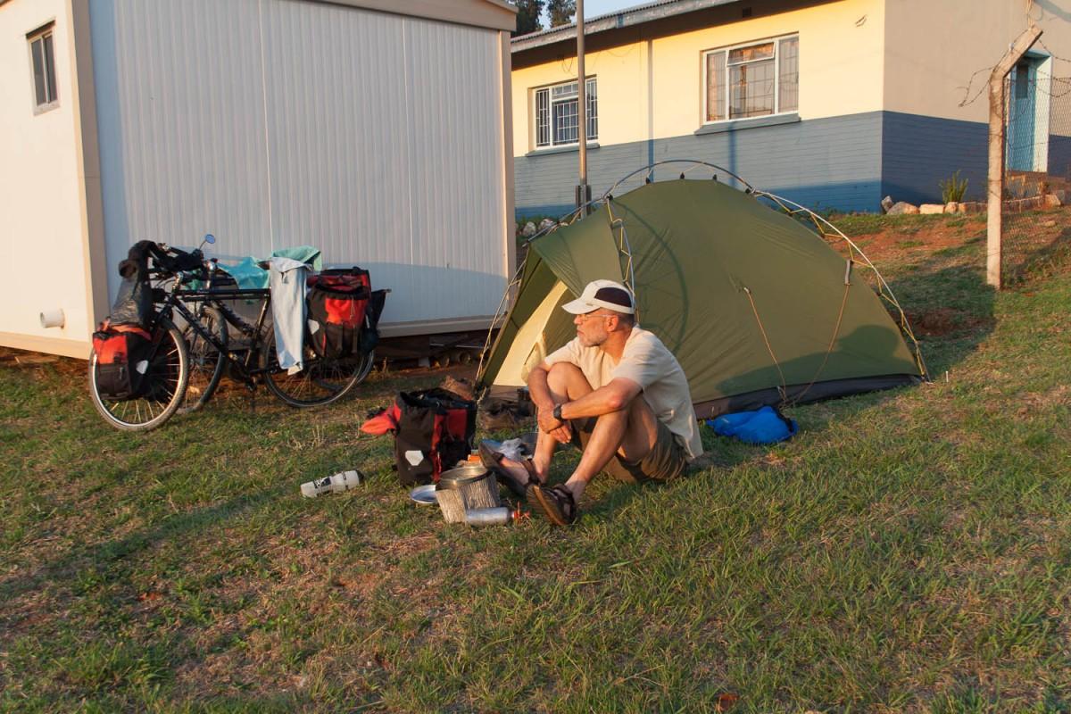 Camping at the Bhunya Police Station