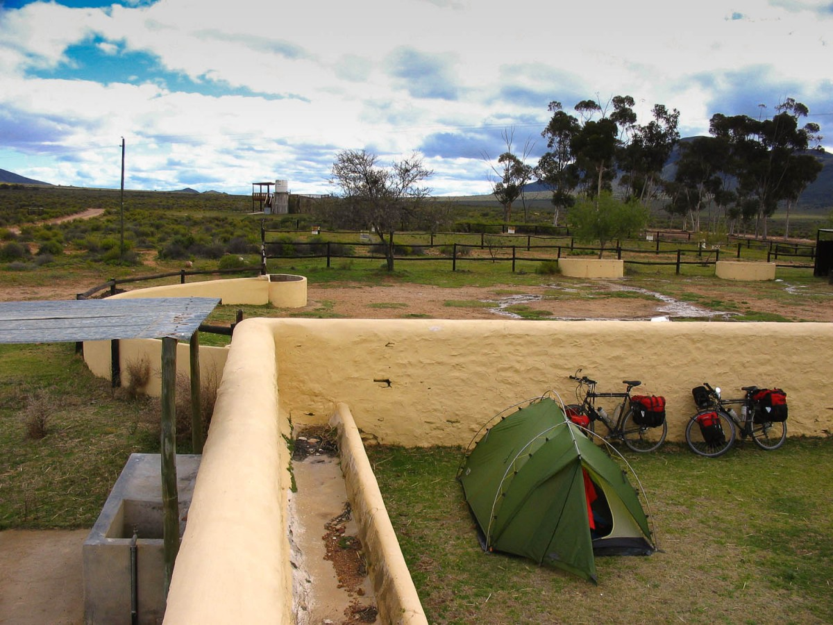Camping at Anysberg Nature Reserve